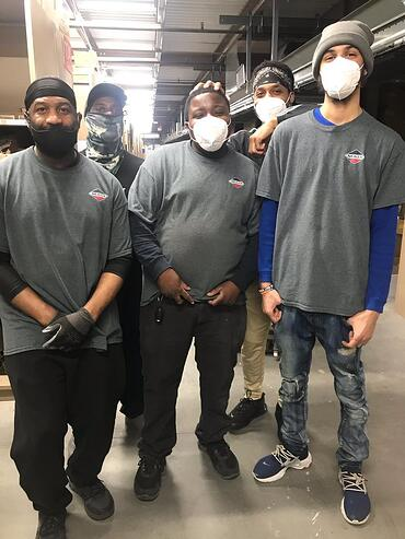 Warehouse Group Photo